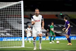 Harry Kane lap hattrick, Tottenham nghien nat doi thu de vao vong bang Europa League 2020/21