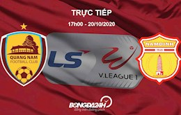 Truc tiep bong da Quang Nam vs Nam Dinh hom nay o kenh nao
