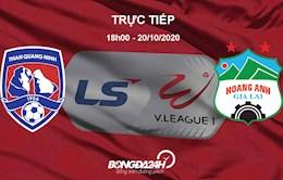 Truc tiep bong da Quang Ninh vs HAGL V-League 2020 hom nay