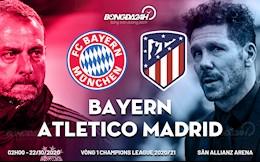 Truc tiep bong da Bayern Munich 2-0 Atletico (H1): Hum xam gia tang cach biet