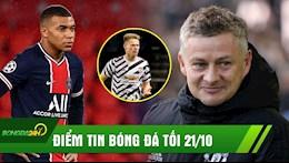 DIEM TIN TOI 21/10: Cau thu MU choi bang 1 mat cung thang PSG; Mbappe muon roi PSG sang Anh?