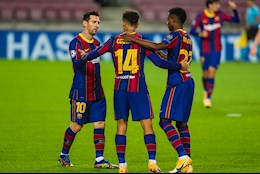 Ket qua cup C1 Barca vs Ferencvaros: Link xem video tran dau