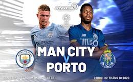 Truc tiep bong da Man City 1-1 Porto (H1): Aguero go hoa tren cham 11m