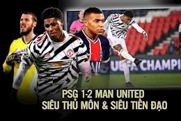 PSG 1-2 Man Utd: Sieu thu mon va sieu tien dao