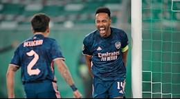 Ket qua cup C2 Rapid Wien vs Arsenal,link xem video cuu tinh Aubameyang