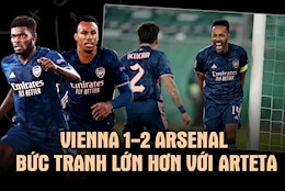 Vienna 1-2 Arsenal: Buc tranh lon hon voi Mikel Arteta