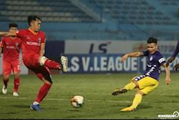 ANH: Khoanh khac Quang Hai ra chan dang cap, Ha Noi FC han hoan trong niem vui suong