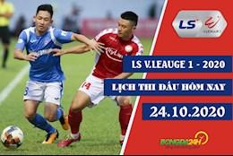 Lich thi dau V.League 2020 chieu toi hom nay 24/10