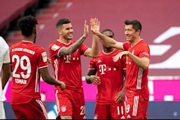 Sat thu Lewy lap hattrick, Bayern Munich de bep Frankfurt