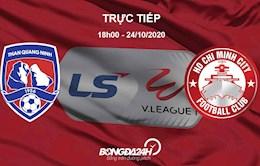 Truc tiep bong da Quang Ninh vs TPHCM hom nay o dau ?