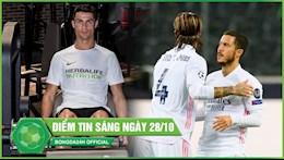 DIEM TIN SANG 28/10: Madrid nguoc dong vat va giu lai 1 diem; Ronaldo lo hen voi Messi