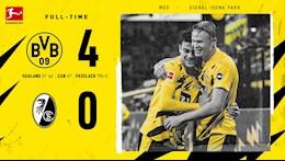 Video tong hop: Dortmund 4-0 Freiburg (Vong 3 Bundesliga 2020/21)