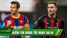 DIEM TIN TOI 30/10: Messi la Harry Potter cua bong da the gioi; Sao xit MU ra mat an tuong