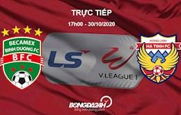 Truc tiep bong da Binh Duong vs Ha Tinh hom nay o dau ?