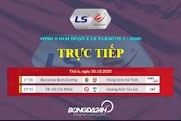 Truc tiep V.League hom nay 30/10/2020 (Link xem FULL HD)