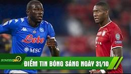 DIEM TIN SANG 31/10: MU muon co nha vo dich Champions League, Koulibaly phu phang voi Liverpool?