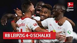 Huy diet Schalke, Leipzig vuon len dan dau Bundesliga 2020/21