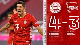 Video tong hop: Bayern Munich 4-3 Hertha Berlin (Vong 3 Bundesliga 2020/21)