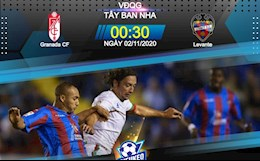 Nhan dinh bong da Granada vs Levante 0h30 ngay 2/11 (La Liga 2020/21)