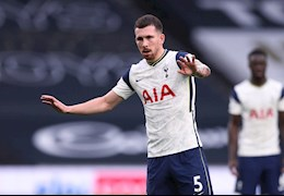 Pierre-Emile Hojbjerg: Thủ lĩnh không… đeo băng thủ quân của Tottenham-Mourinho