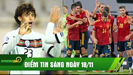 DIEM TIN SANG 18/11: Ronaldo 2.0 giup BDN nguoc dong ngoan muc; TBN nhan chim co xe tang Duc