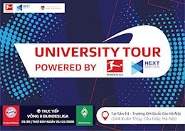 Đại học kinh tế - Đại học Quốc gia Hà Nội: Điểm dừng chân đầu tiên của sự kiện Bundesliga University tour