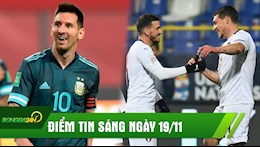 DIEM TIN SANG 19/11: Messi lai tao nen ky luc khung; Italia vuot Ha Lan vao Ban ket Nations League