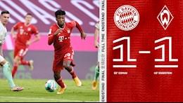 Video tong hop: Bayern Munich 1-1 Bremen (Vong 8 Bundesliga 2020/21)