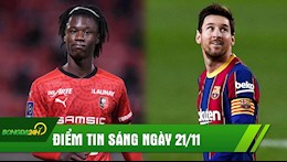 DIEM TIN SANG 21/11: Messi sap pha vo ky luc huyen thoai; MU mua Makelele 2.0 thay the Pogba?