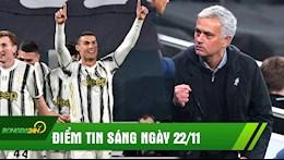 DIEM TIN SANG 22/11: Ronaldo lap cu dup, Juve thang nhe nhang; Mourinho dua Spurs len ngoi dau