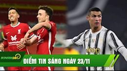 DIEM TIN SANG 23/11: Ronaldo muon tro lai Real; Gap bao chan thuong Liverpool van de bep Leicester