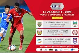Truc tiep V.League hom nay 3/11/2020 (Link xem VTV6, VTV5)