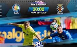 Nhan dinh bong da Getafe vs Villarreal 20h00 ngay 8/11 (La Liga 2020/21)