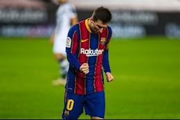 Messi ghi ban duy nhat, Barca thang nhoc