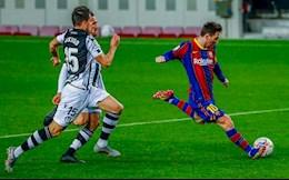 Lionel Messi ap sat ky luc cua Pele sau ban thang vao luoi Levante