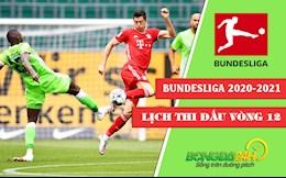 Lich thi dau vong 12 Bundesliga 2020/2021 tuan nay