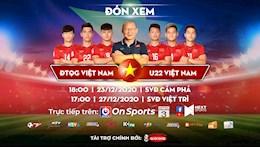 """Xem """"cuộc chiến nội bộ"""" học trò thầy Park trên kênh On Sports-VTC3"""