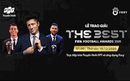 Đón xem The Best 2020 - Giải thưởng FIFA Xuất sắc nhất năm trên Truyền hình FPT