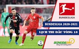 Lich thi dau vong 13 Bundesliga 2020/2021 cuoi tuan nay