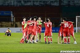 Chùm ảnh: U21 Viettel ăn mừng chức vô địch U21 Quốc gia