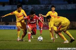 ẢNH: Màn trình diễn của Hữu Thắng trong trận chung kết U21 Quốc gia