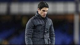 Arsenal không thắng 7 trận liên tiếp, HLV Arteta đổ tại thiếu may mắn