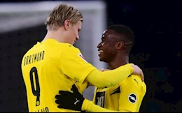 Haaland tho lo giac mo len dinh cung Dortmund