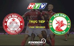 Ket qua TP.HCM vs Binh Dinh hom nay 29/12: Doi bong 300 ty danh chim Chien ham do!