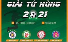 Bang xep hang, ket qua Cup Tu Hung HTV 2021 hom nay 2/1