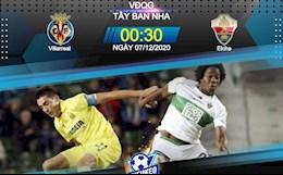 Nhan dinh bong da Villarreal vs Elche 0h30 ngay 7/12 (La Liga 2020/21)
