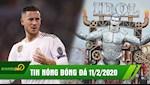 TIN NONG bong da hom nay 11/2: Chau Au run so vi Hazard tro lai, Ronaldo duoc tac tuong SIEU TO KHONG LO tai Italia