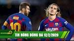 TIN NONG BONG DA 12/2: Co lap Grizi, Barca mau thuan dinh diem | Messi khong con dat gia nhat TG