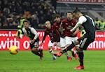 AC Milan 1-1 Juventus: Ronaldo lap cong tren cham 11m, Lao ba thoat thua vao phut chot