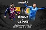 Barca 2-1 Getafe: Messi van tit ngoi, nha DKVD thang sit sao